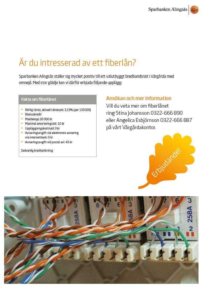 fiber-sparbanken